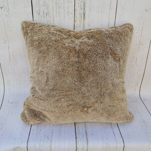 Restoration Hardware Luxe Faux Lynx pillow cover